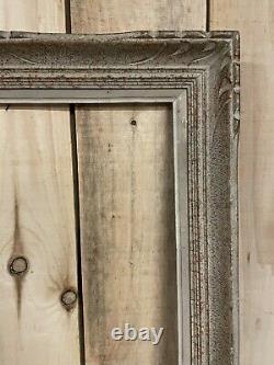 100x50cm Cadre Montparnasse Ancien 1950 Frame Peinture Tableau Hst Patiné