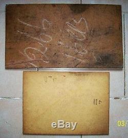 2 anciennes marines marseille tableaux peinture bateaux signés Georges Weiss