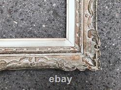 Ancien Cadre Ancien Montparnasse Format F6 Peinture Tableau 41 X 33 Cm