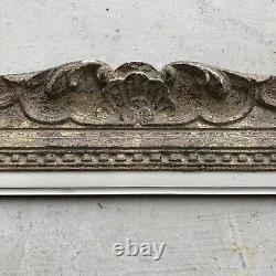 Ancien Cadre Montparnasse Bois Sculpté Format 15F début XXème Tableau Peinture