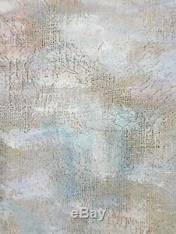 Ancien Tableau Auguste Panon (XIXe-XXe) Peinture Huile Toile Oil Painting