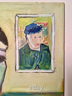 Ancien Tableau Cubiste Arlésienne Abstraction Cubiste Picasso Van Gogh peinture