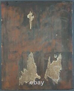 Ancien Tableau Jeune Toscane Peinture Antique Oil Painting Dipinto Ölgemälde