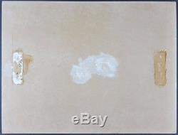 Ancien Tableau Joute Nautique Peinture Huile Antique Oil Painting