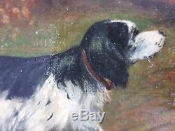 Ancien Tableau Louis Babelay (XIXe-XXe) Peinture Huile Antique Oil Painting