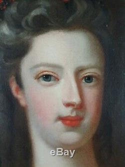 Ancien Tableau Marie-Antoinette Peinture Huile Antique Oil Painting Dipinto