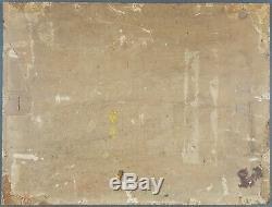 Ancien Tableau Moutons Peinture Huile Antique Oil Painting Dipinto Ölgemälde