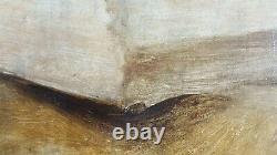 Ancien Tableau Nature Morte Peinture Huile Toile Antique Painting Old Dipinto
