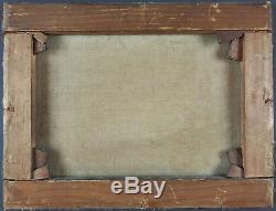 Ancien Tableau Paul Preyer (1847-1931) Peinture Huile Antique Oil Painting
