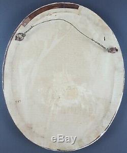 Ancien Tableau Pêche à la Ligne Peinture Huile Antique Painting Antico Dipinto