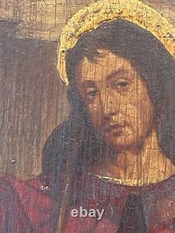 Ancien Tableau, Peinture, HSP, Scène religieuse
