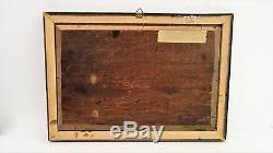 Ancien Tableau peinture HSB Marine Antique Oil painting