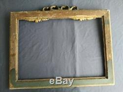 Ancien cadre Louis XVI feuillure 66 cm x 47 cm frame peinture tableau gravure