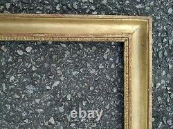 Ancien cadre baguette dore feuillure 36 cm x 28 cm frame peinture tableau miroir