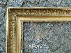 Ancien cadre empire feuillure 60 cm x 44 frame peinture tableau gravure photo