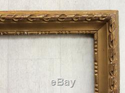 Ancien cadre style Louis XVI 5F pour tableau peinture 35x27cm