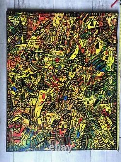 Ancienne Peinture Tableau Jm Gauthier Menton Et Dependances 2012