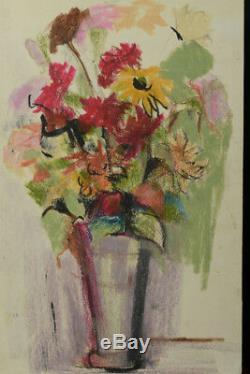 Bel Et Ancien Tableau Bouquet De Fleurs Attribution Jules Cavailles Plus Expo