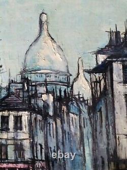 Didier Grandt Tableau ancien Huile Sur Toile, Peinture Paris 1961