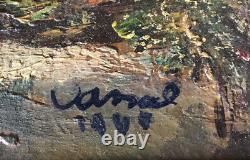 Jean Vassal (1902-1986) Peinture XXe École Française Tableau Ancien Huile Toile