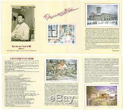 Le Campagne de Modena en Été Tableau Ancienne Peinture Huile Signé Pancaldi p18