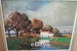 Paul Morchain(1876-1939)Peinture 1920 huile panneau tableau ancien Artprice