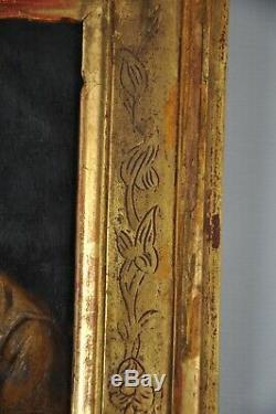 Peinture Tableau Ancien Sur Cuivre XVII XVIII St. Pierre