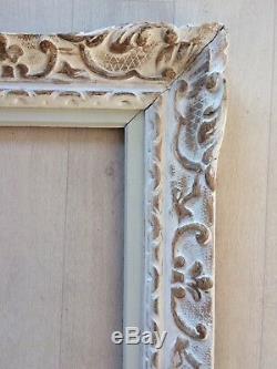 Superbe ancien cadre montparnasse 15F pour tableau peinture 65x54cm