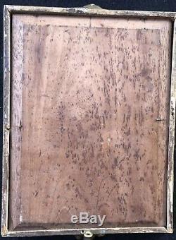 Tableau Ancien Peinture Huile / Panneau XIXe Painting Dipinto Antico 19th