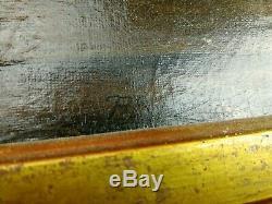 Tableau Huile sur toile ancienne nature morte fruits signée R. R 55 x 45 peinture