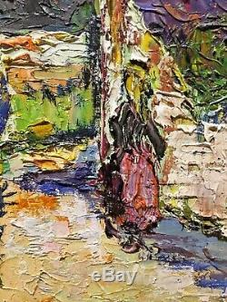 Tableau Peinture 20èm XXèm Mistre Paysage Réalisme Ecole provençale Rare ancien