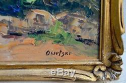 Tableau ancien, Bord de mer méditerranéenvers 1930/1940 par Osietzki