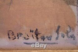 Tableau ancien par Albert Sala dit Albert Braïtou-Sala école de paris1885 -1972
