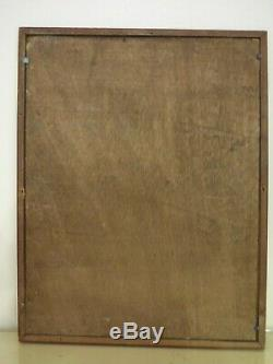 Tableau ancien r bastide a identifier marine bateau peinture chic bord de mer