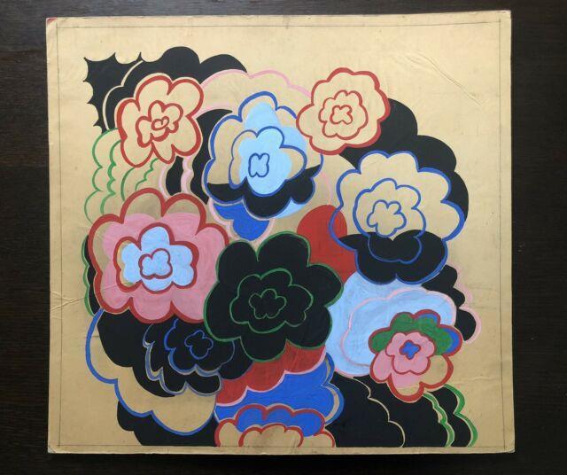 Tableau Peinture Ancienne Fleurs Xxe Sonia Delaunay
