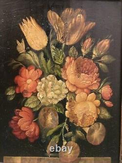 Tableau peinture ancienne nature morte Brueghel Still Life